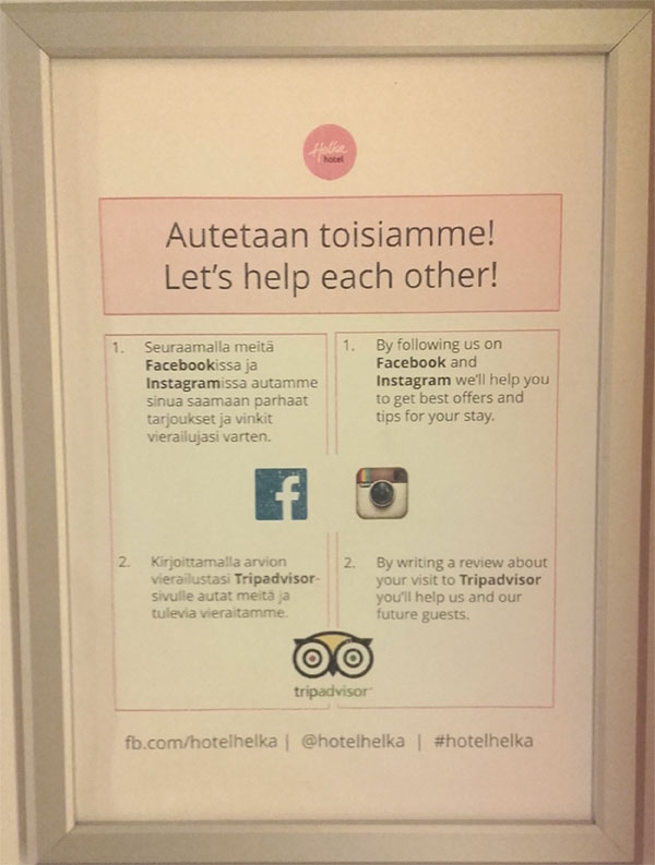 Hotel Helka - Facebook i TripAdvisor